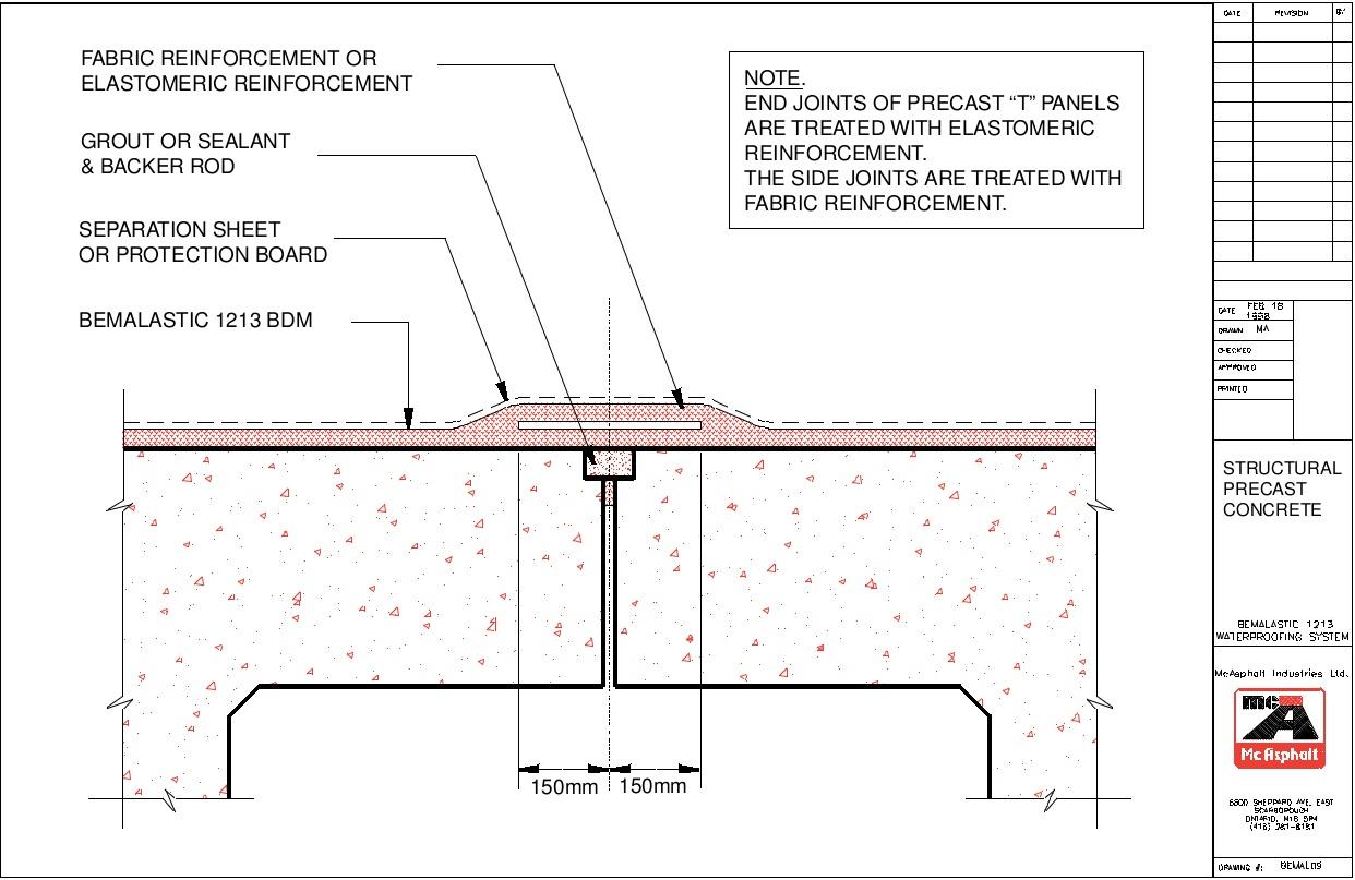 Waterproofing | Cantat Associates Inc.